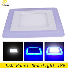 wholesale led downlight wattage 18w led lights ceiling flat panel