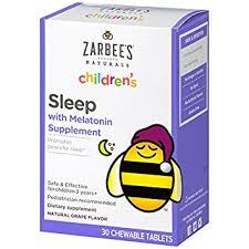 how long before bed should you take melatonin amazon com zarbee s naturals children s sleep with melatonin