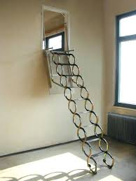 drop down attic stairs attic pull down ladder slide down attic
