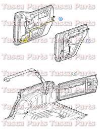 oem mopar lh front door panel wiring harness 2011 2013 jeep