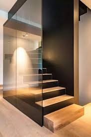 Interior Stair Lights Obsessed With These Modern Stairs Stairway To Heaven