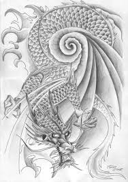 japanese dragon sleeve tattoo design for men in 2017 real photo