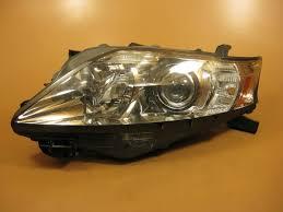 lexus rx 350 xenon lights lexus rx350 headlight left driver 2010 2011 2012