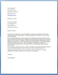Resume For Software Developer Fresher Sample Cover Letter Software Engineer Stibera Resumes