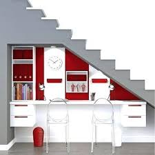sous bureau design bureau sous escalier coin lolabanet com
