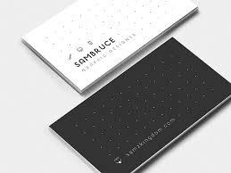 Bisness Card Design Minimalistic Business Card Designs For Inspiration Icanbecreative