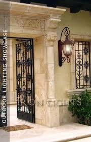 wrought iron outdoor lighting architectural lights light fixtures