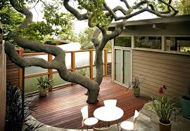 Enclosed Backyard 17 Awesome Backyard Deck Ideas To Liven Up A Party Remodeling