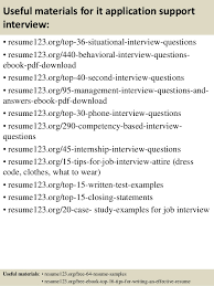 Resume Format For Applying Job Abroad by Top 8 It Application Support Resume Samples
