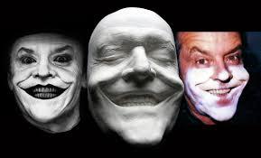 halloween prosthetic mask jack nicholson joker prosthetic fx life mask cast nr for sale