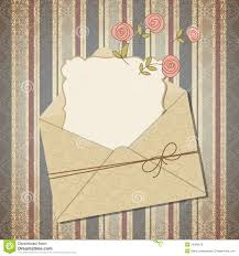 E Card Invites Vintage Greeting Card Or Invitation Royalty Free Stock Image