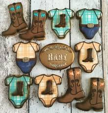 cowboy baby shower cookies cookie connection baby shower