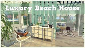 sims 4 luxury beach house download cc creators links dinha