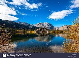 fall color gull lake town june lake eastern