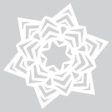 how to make paper snowflake with ornaments tutorial