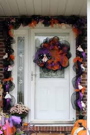 Halloween Mesh Wreath Ideas by 52 Best Deco Mesh Wreaths Images On Pinterest Burlap Wreaths