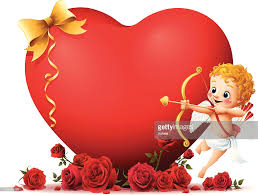 cupid valentine heart vector art getty images