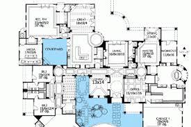 courtyard house floor plans spanish courtyard house plans home design plan