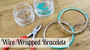 beading wire bracelet images Bead wire and fashion jewelry make wire wrapped bracelets jpg