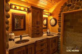 bathroom charming log cabin bathrooms precisioncraft home real
