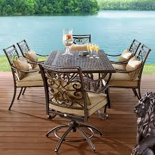 Agio Outdoor Patio Furniture by Country Living 7 Pc Dining Set Better Entertainment Ideas U2013sears