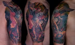 27 perfect st michael tattoo designs slodive