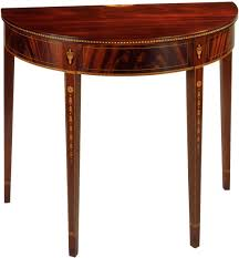 demi lune cuisine furniture demilune table design ideas for home interior decor con
