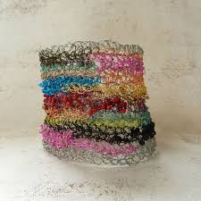 Rag Rug Bracelet 147 Best Jewelry Wire Crochet Knit Images On Pinterest Wire