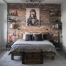 Bedroom Walls Design Best 25 Brick Wall Bedroom Ideas On Pinterest College Bedrooms