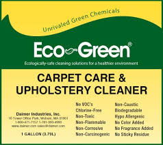 green upholstery cleaner carpet care eco green carpet cleaning chemicals by daimer
