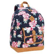 bloom backpack northfield bloom burst backpack blue pbteen