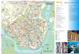 Map Of Seville Spain by Toledo Tourist Map