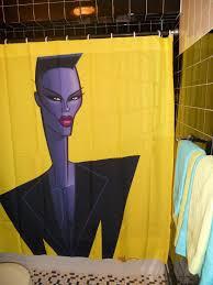 pop culture shower curtains batman wonder woman the shining the
