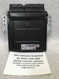 nissan frontier xe 1998 used nissan frontier engine computers for sale
