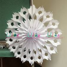 white paper fans christmas snowflake white paper folding fans decorative paper fans