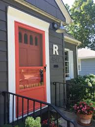 the transformation of our american small house coral door steel