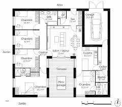 plan de maison plain pied 4 chambres avec garage chambre unique plan de maison plain pied 4 chambres avec garage high