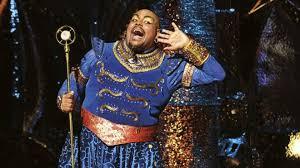aladdin musical u0027begins panto season early u0027 critics bbc