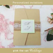 rustic pocket wedding invitations wedding invitations u2013 pink the cat