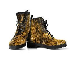 womens boots vegan orange spirituality vegan s boots noa knafo