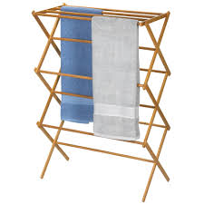 Bamboo Clothes Drying Rack Clotheslines Com