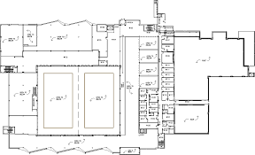 Entertainment Centre Floor Plan Mcmaster University David Braley Athletic Centre First Floor Map