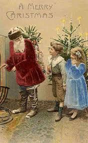 605 best santa postcards images on