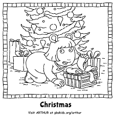 arthur holiday holiday coloring pages pbs kids