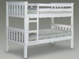 Barcelona Bunk Bed Verona Barcelona White Wooden Single Bunk Bed Frame Bunk Beds