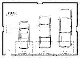 size of a 3 car garage 3 car garage dimensions ppi blog