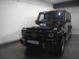 mercedes g class all black mercedes g class 5 5 g63 amg 5dr automatic for sale in