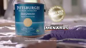grand distinction paint backed by menards money back guarantee