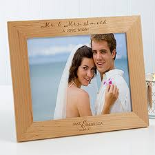 Personalized Wedding Photo Frame Personalized Wood Wedding Frame Wedding Elegance 8x10