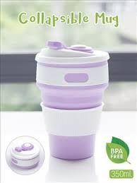 Collapsible Coffee Mug Collapsible Coffee Mug Purple From Chilindo Com Auctions